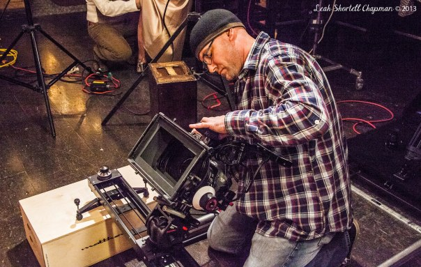 Director Kevin Otterness On Set of His Latest Music Video 'SUPERSTAR' (BY MYSELF)